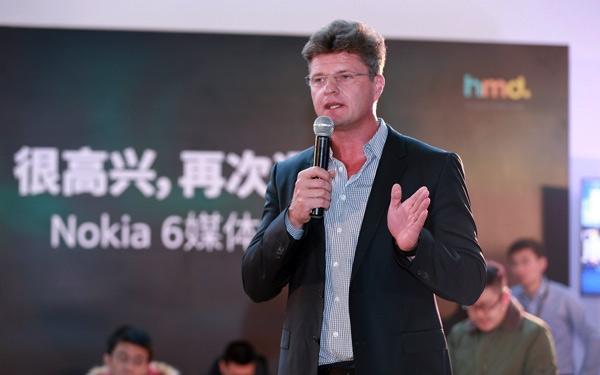 诺基亚8即将发布之际 HMD CEO却突然离职了