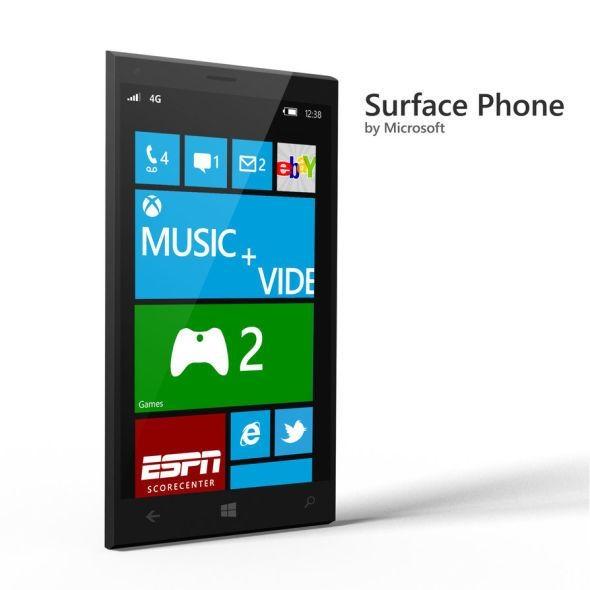 折叠屏设计、运行exe!微软Surface Phone纸面现身