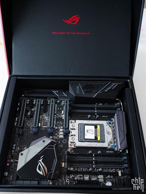 华硕AMD X399顶级主板海量多图:这M.2 SSD设计绝了
