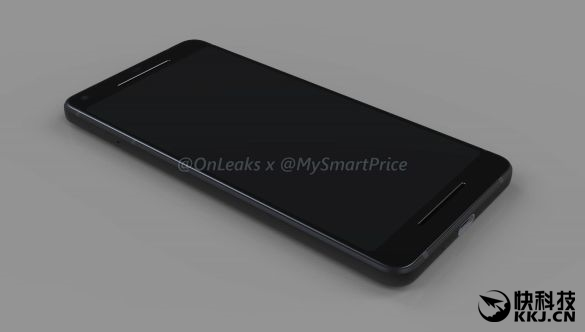 首发骁龙836+安卓8.0!谷歌Pixel 2/XL 2外形大曝光