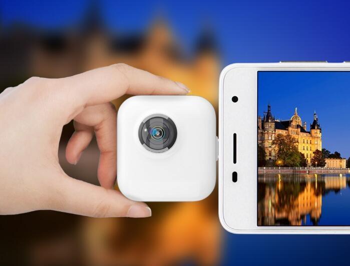 小魅全景vr摄像头:插入手机看360°全世界