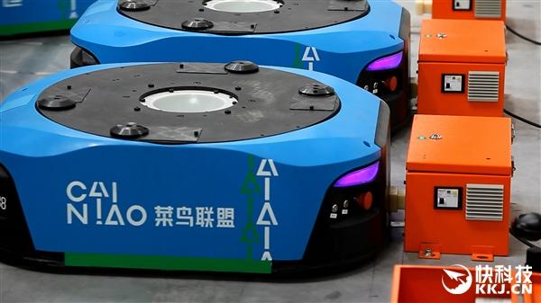 中国最大智能机器人仓库启用!天猫送货提速:上午下单下午到