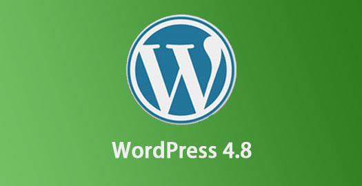 WordPress 4.8.1正式发布 增加单独的HTML小工具