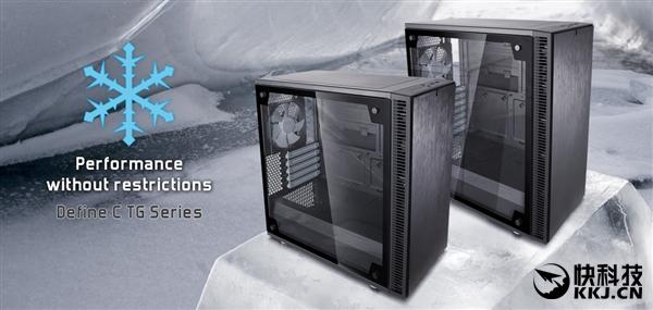 工业级静音防尘!FD发布DC/DC mini钢化玻璃侧透版机箱
