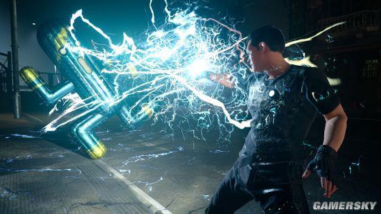 《最终幻想15》女战士演示:操控妹子打怪兽