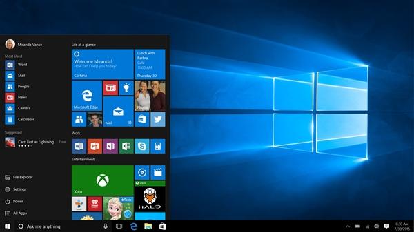 明天发!Windows 10新累积补丁来了:安全大修复