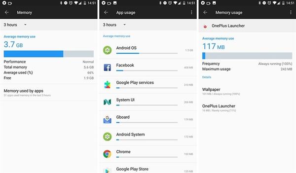 安卓手机8GB内存实测:闲置率高、永远写不满