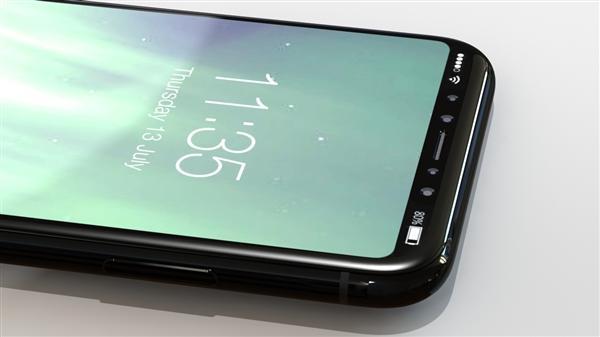 别被苹果骗了!iPhone 8屏幕玻璃曝光:亮屏美如画