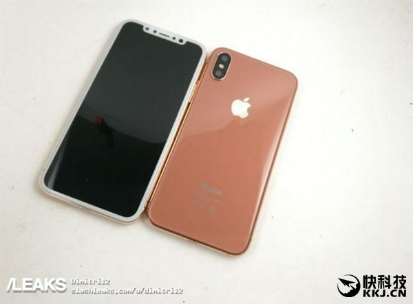 iPhone 8新配色频频曝光:白色面板让人抓狂
