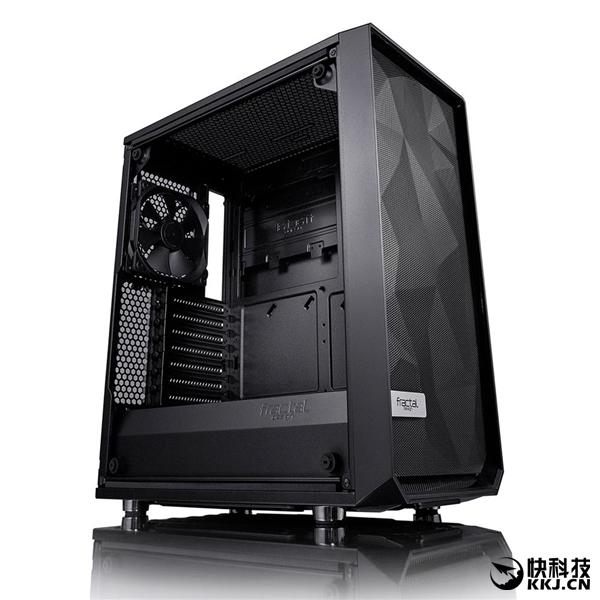 620元!FD发布Meshify C中塔机箱:暗色侧透、无阻风道
