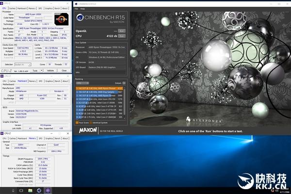 体质无敌!AMD ThreadRipper 1950X 16核全开暴超5.2GHz