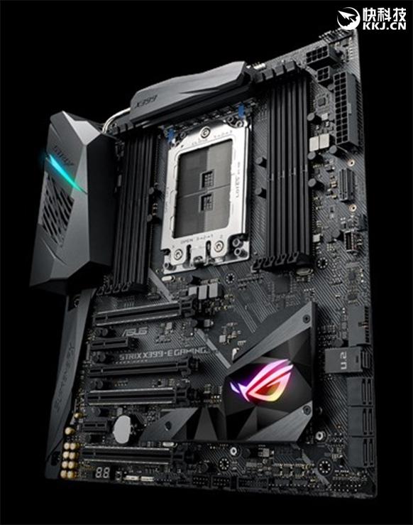 AMD 16核心迎第7款X399主板:华硕Strix X399-E首曝