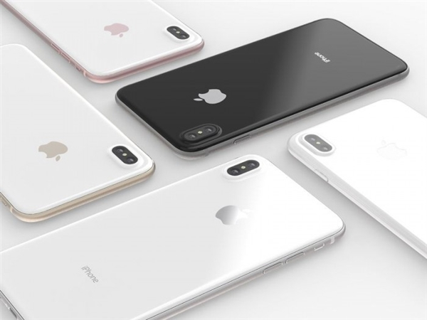 媲美官方图!国外设计师打造最美iPhone 8:很有爱