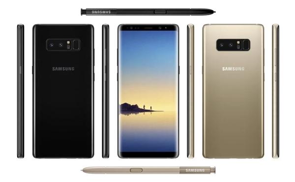 S8+简单放大!三星Note8无缘骁龙836、屏下指纹