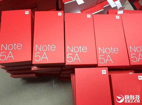 999元!红米Note 5A完全曝光:指纹哪儿去了?