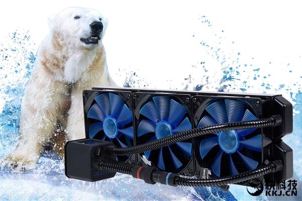 Alphacool放出史上最大水冷散热器:420mm的怪物