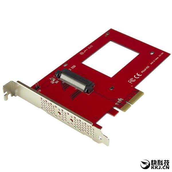 老主板福音!U.2接口SSD转接卡问世:秒提速