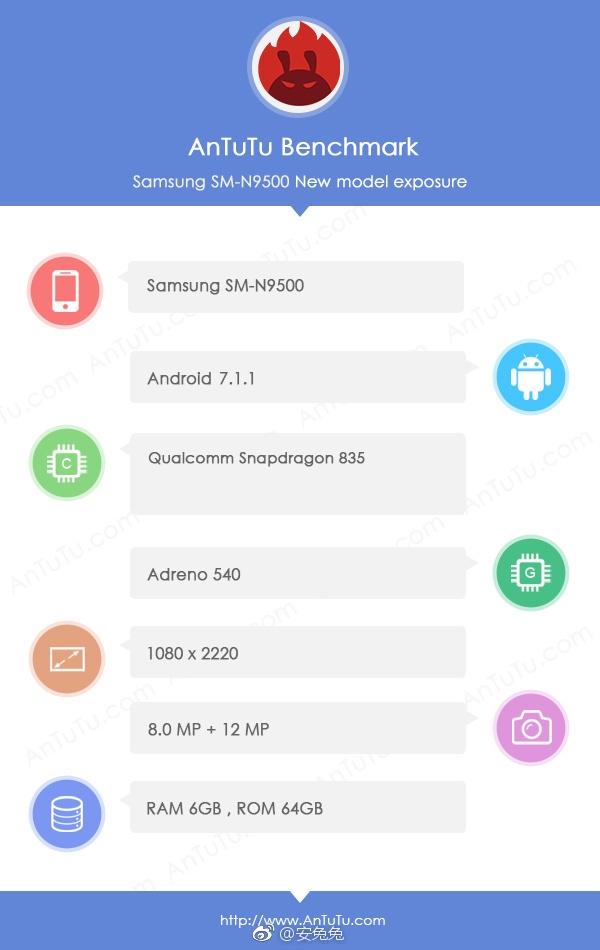 Galaxy Note 8双版本齐曝:分辨率如此奇怪