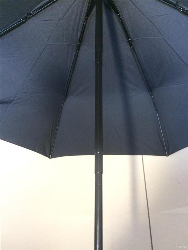 99元!小米米家己触动雨水伞图赐予:壹键开合