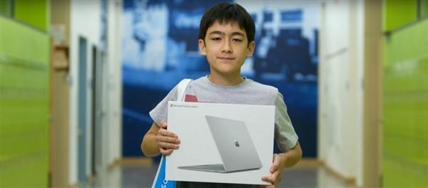 中学生写信夸赞微软:结果竟得到免费Surface Laptop
