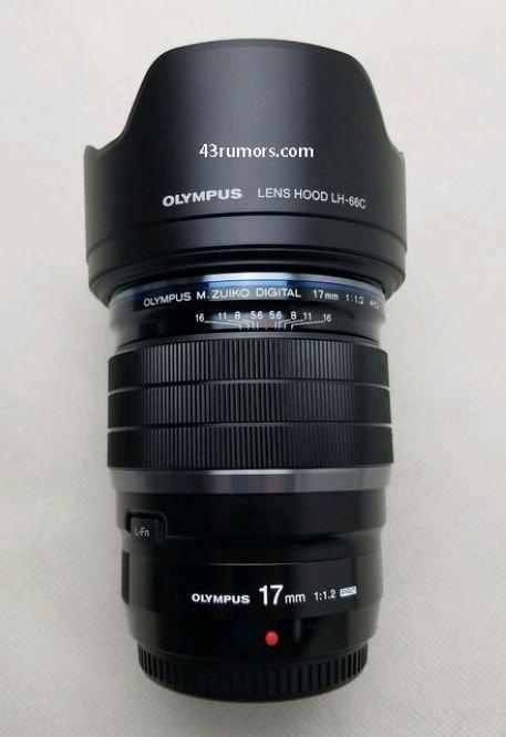 奥巴m43 PRO镜头曝光:17mm f/1.2