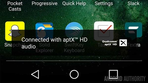 支持aptxHD和LDAC!安卓8.0蓝牙音质大爆发
