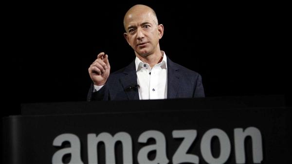 亚马逊CEO贝索斯重回世界第2 财富叫8月有所下降