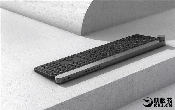 1699元!罗技发布Craft无线键盘:自带360度旋钮