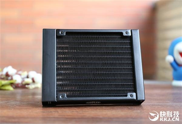 42种炫光!酷冷至尊冰神B120/B240 RGB水冷散热器开箱图赏