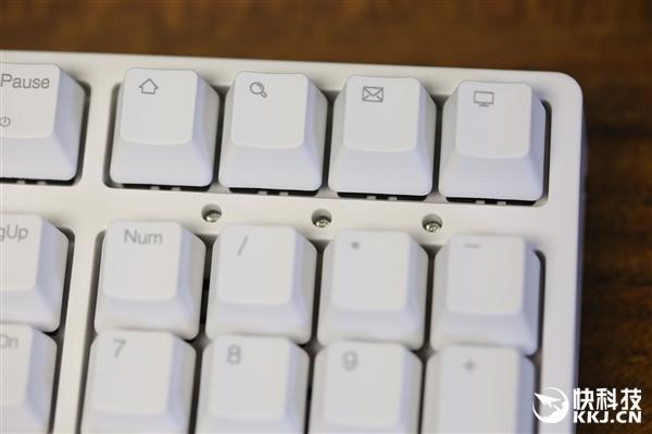 IKBC机械键盘DC108开箱图赏:蓝牙双模/Type-C