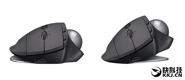 时隔十年!罗技发布全新轨迹球鼠标MX ERGO:652元
