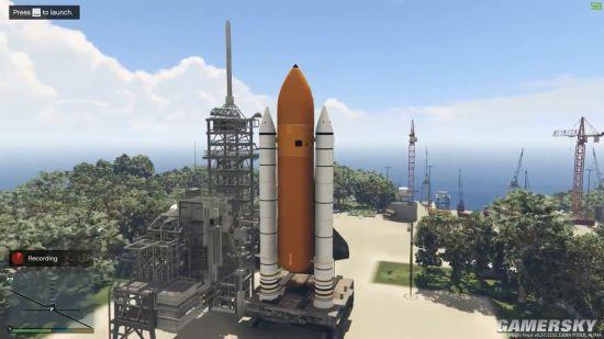 《GTA5》太空冒险MOD开放下载 飞出地球大战外星人