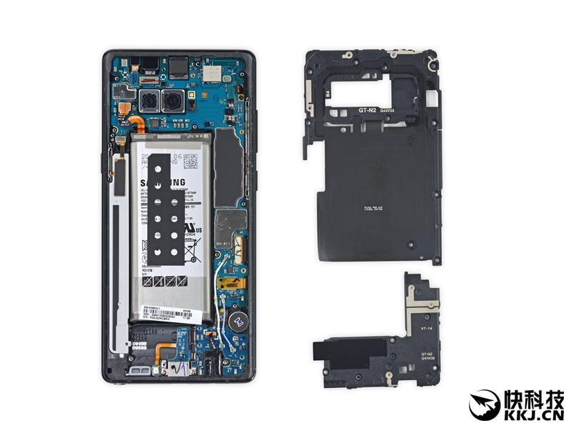 三星Galaxy Note 8详尽拆解:维修界的灾难