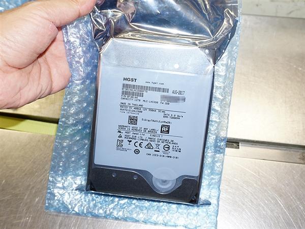 全球第一款12TB容量机械硬盘UltraStar He12开卖!4530元