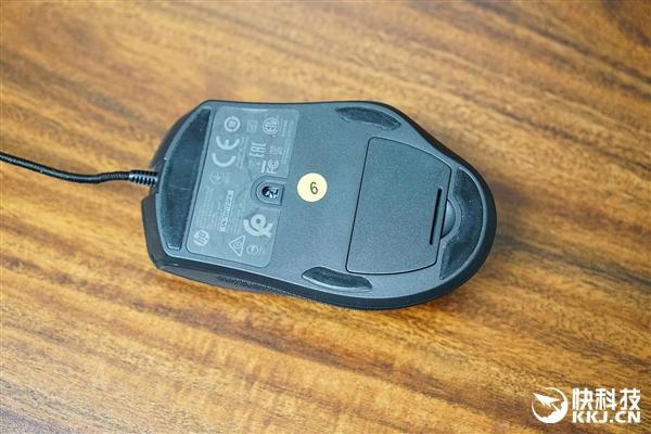 12档DPI游戏利器!惠普暗影精灵鼠标600开箱图赏