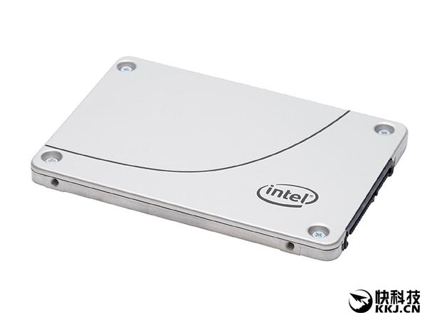 Intel企业级SSD DC S4500悄然开卖:3.8TB 1.6万!