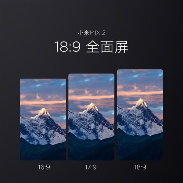 小米MIX2配备日本显示器全面屏 日媒称或影响后者未来