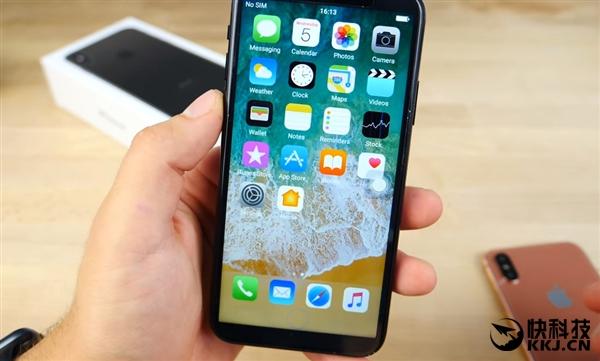 来 开机!提前感受一下iPhone X...画面看醉