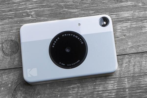 柯达新款Printomatic拍立得相机发布:450元找回童趣