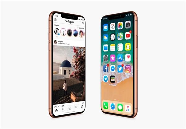 iPhone X砍掉通知栏运营商名称:需滑动显示