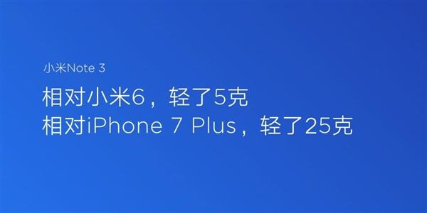 小米Note 3现货开卖!史上拍照最牛