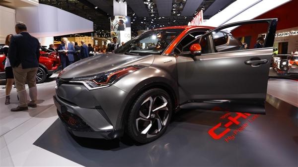 颜值爆表 丰田C-HR混动概念车发布 动力升级