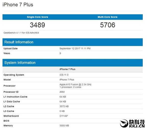 碾压Android!iPhone X跑分现身:太恐怖