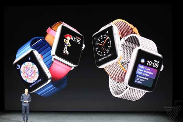 支持4G�W�j!�O果�l布第三代Apple Watch