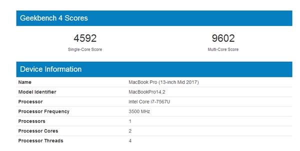iPhone X无敌!苹果A11狂秀性能:力压Intel i7版MBP