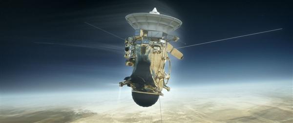 飞行20个年头 穿越78亿公里:卡西尼号坠入土星 自毁失联
