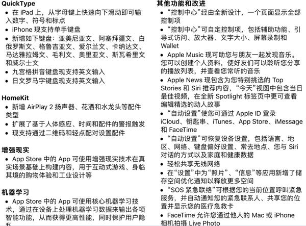 iOS 11正式版发布:可以升级了!