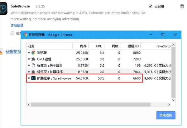 Chrome广告插件植入挖矿病毒:电脑瞬间被卡死