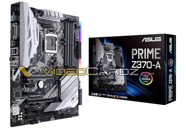 华硕七款Z370主板集体曝光:Z270改个名字完事