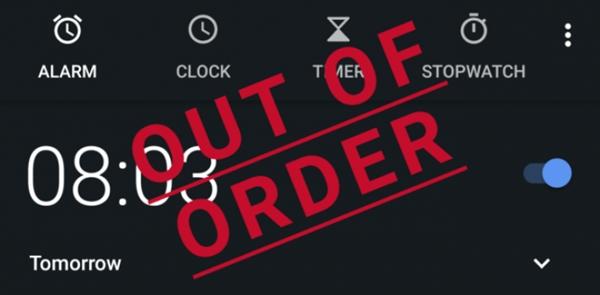 安卓8.0现超无语Bug:闹铃不响 用户集体上班迟到